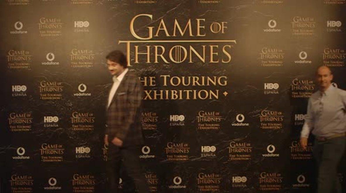 GoT actors visit new Game of Thrones Touring Exhibition in Barcelona