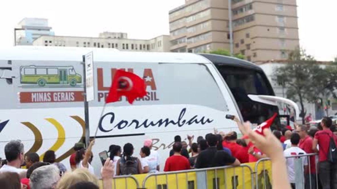Brazil: 'We were not born to steal' - Ex-President Lula rallies despite corruption case