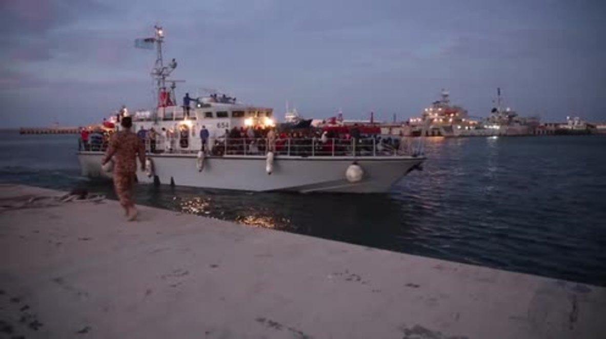 Libya: Coast guard rescues nearly 300 migrants off Tripoli coast