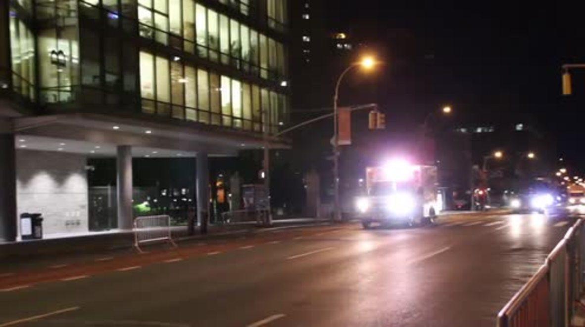 USA: New York attack suspect in custody at Bellevue Hospital