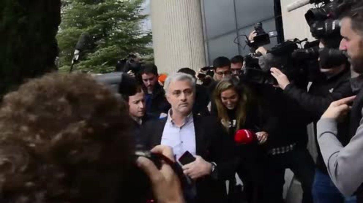 Spain: Mourinho opts for settlement in €3.3 million tax fraud case