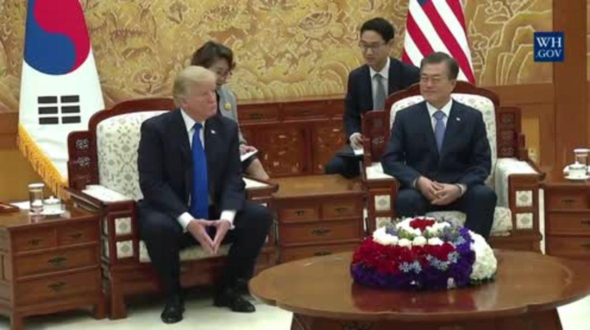 South Korea: Moon praises Trump's role on North Korea crisis