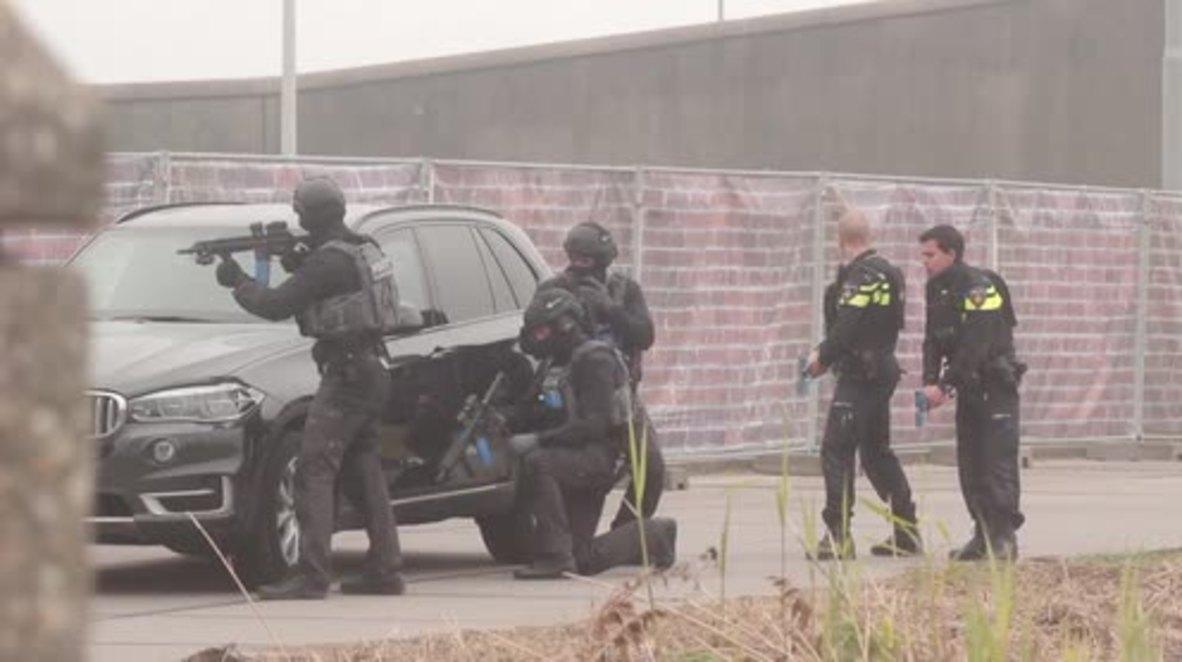 Netherlands: Large-scale anti-terrorist drill kicks off near Amsterdam