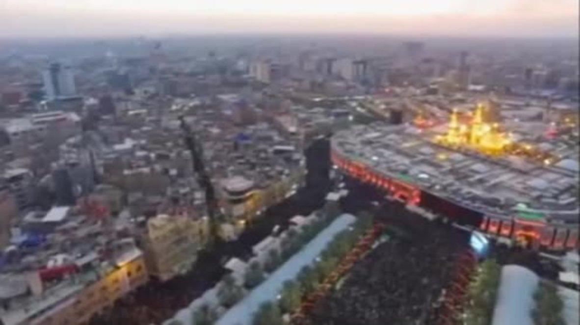 Iraq: Huge crowds commemorate Arbaeen in Karbala