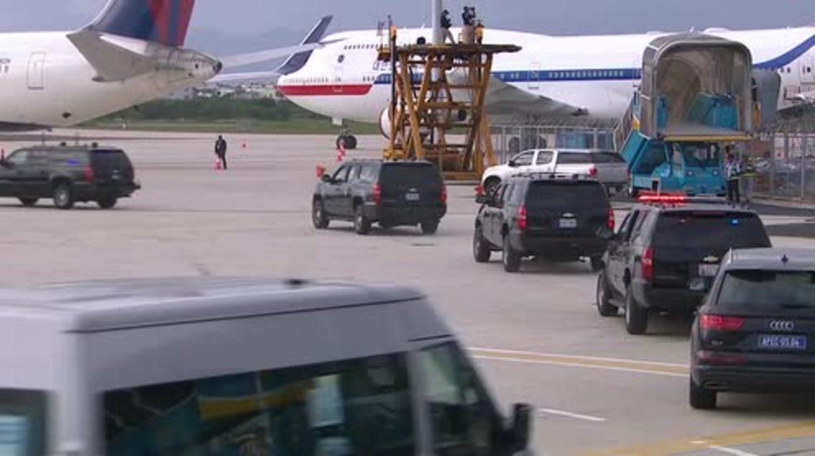Vietnam: Trump leaves Da Nang for Manila on final day of APEC Summit