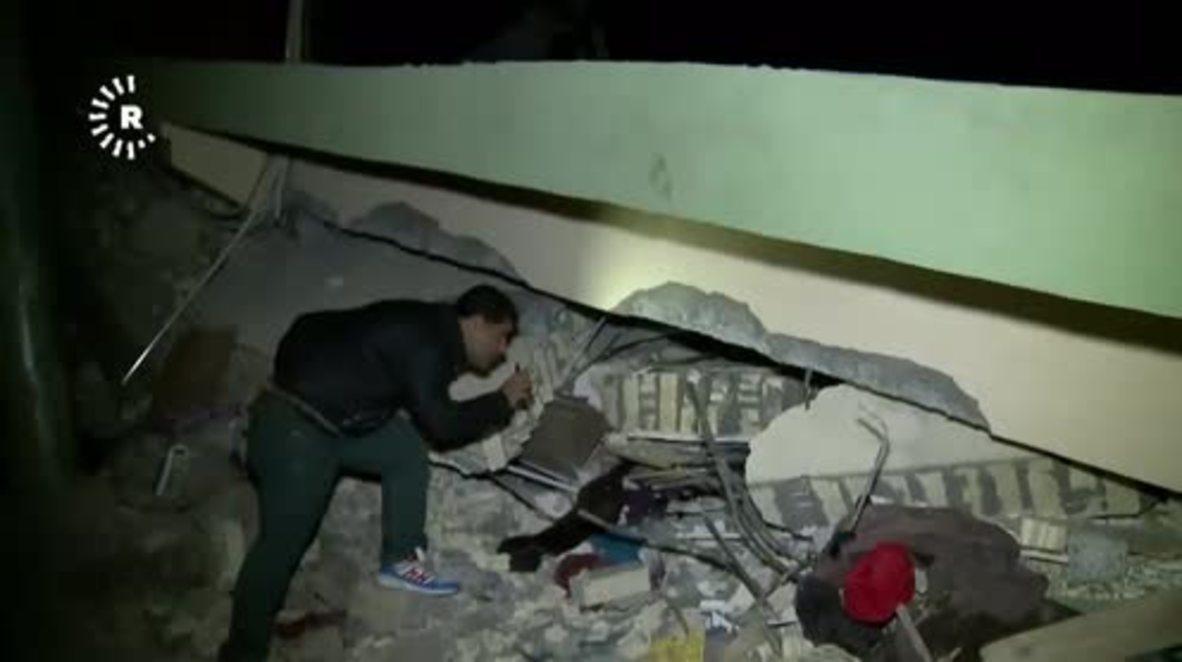 Iraq: Kalar, Darbandikhan in ruins as 7.3-magnitude quake leaves 328 dead