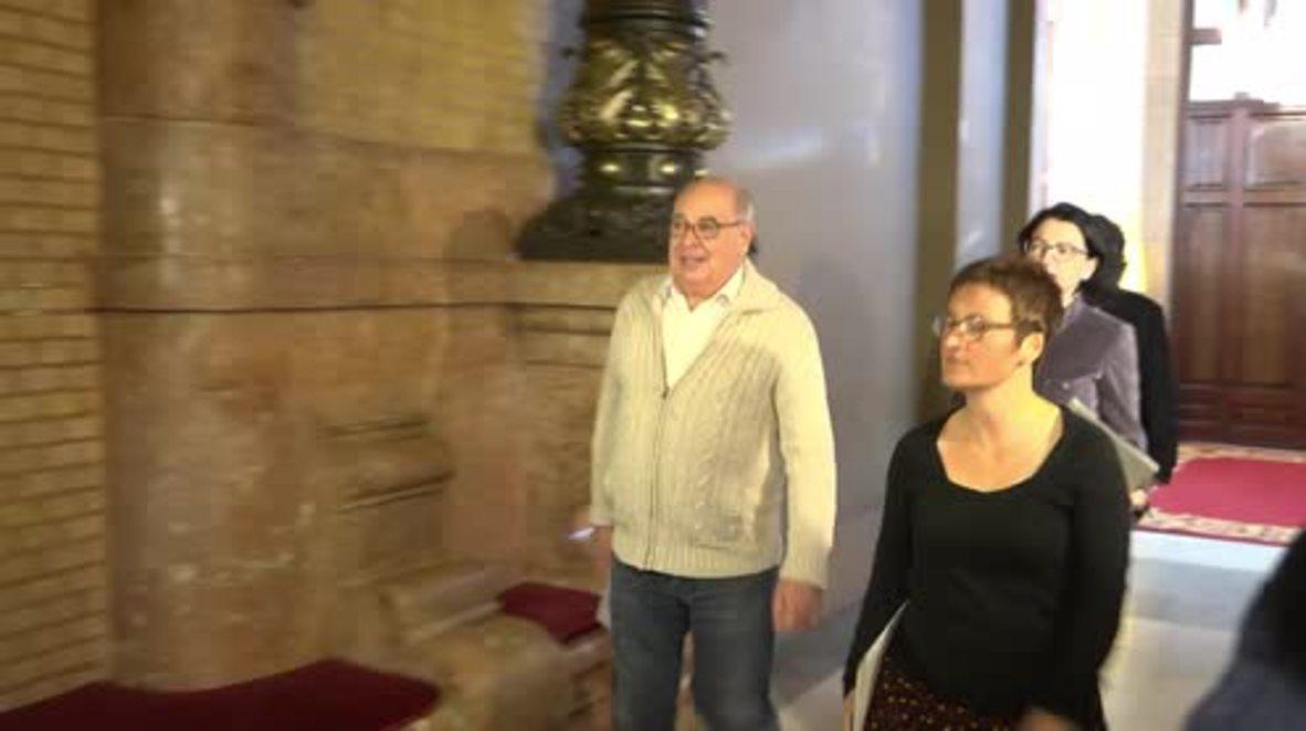 Spain: Catalan Parliament's Permanent Deputation meets in Barcelona