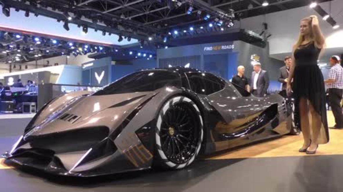 UAE: Devel unveils 'most luxurious car' at Dubai Motor Show