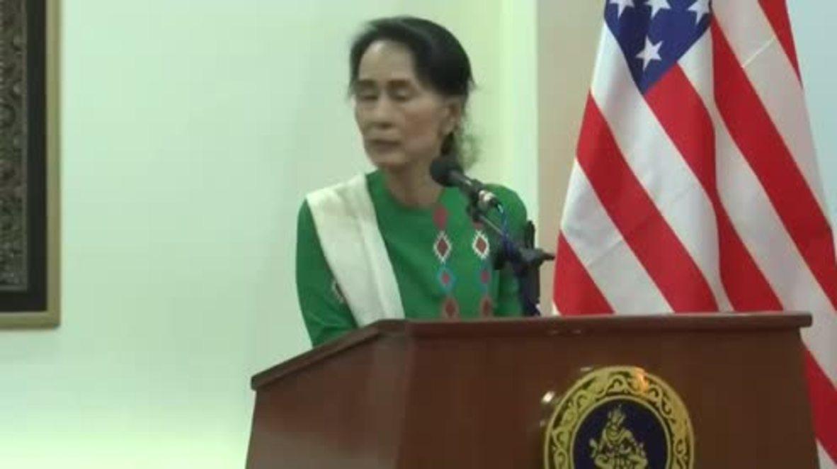 Myanmar: Tillerson calls for independent Rohingya crisis investigation