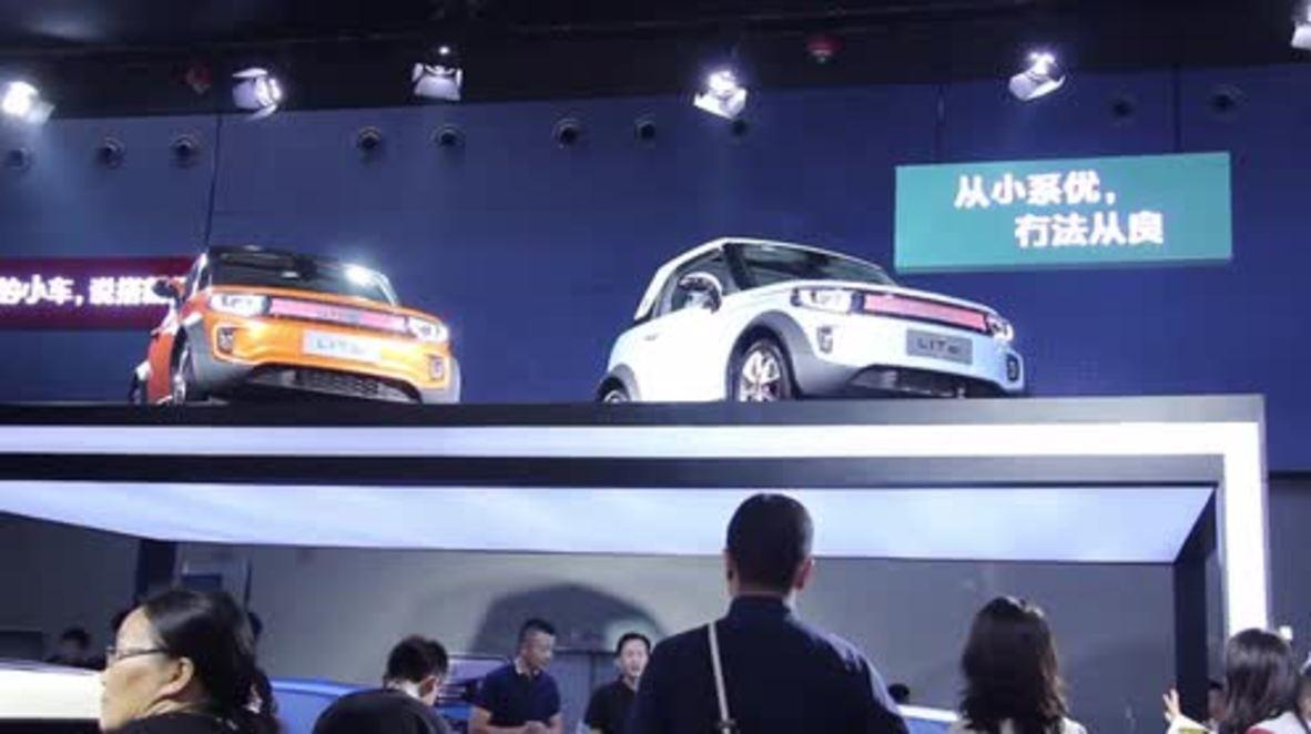 China: Ultra-modern Arcfox Lite illuminates Guangzhou Auto Show