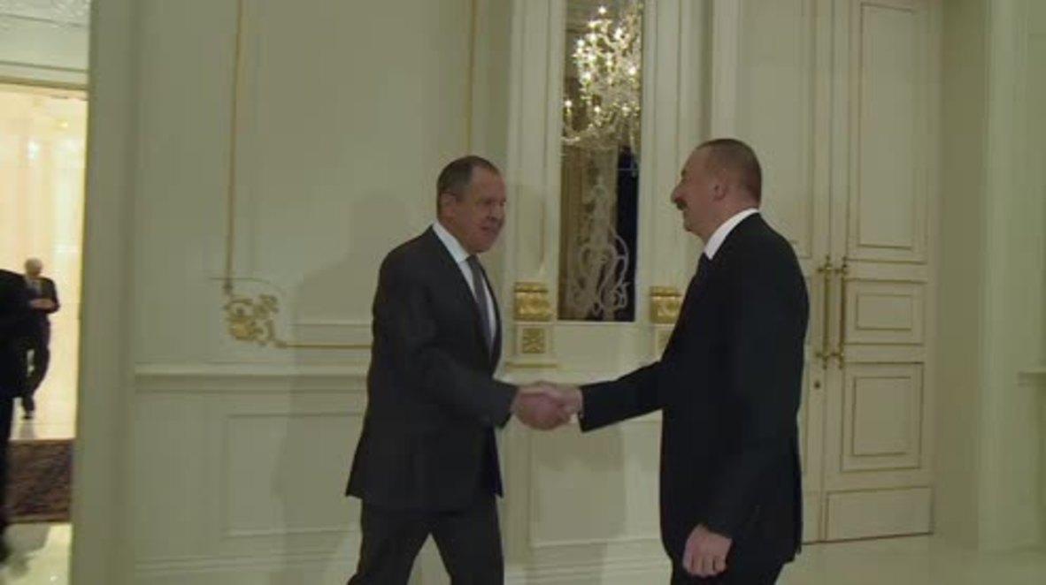 Azerbaijan: Lavrov praises bilateral trade ties in meeting with Pres. Aliyev