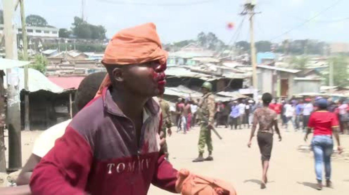 Kenya: 'Three killed' protesting decision to uphold Kenyatta victory