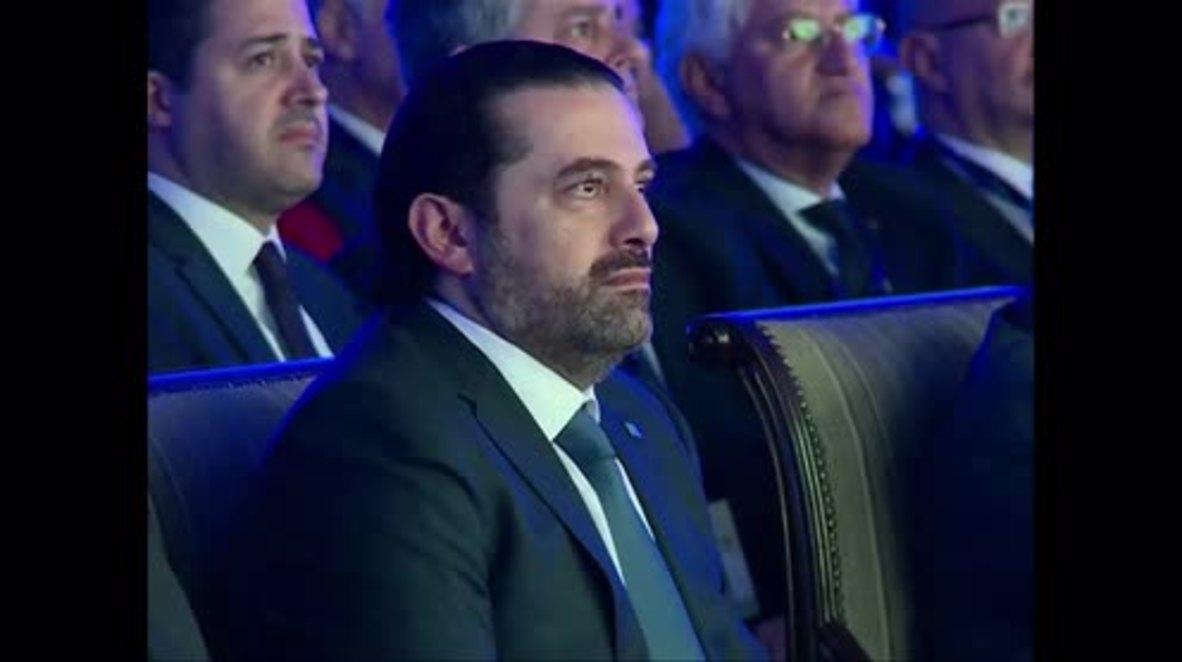 Lebanon: Hariri says Lebanon's affairs should be primary focus