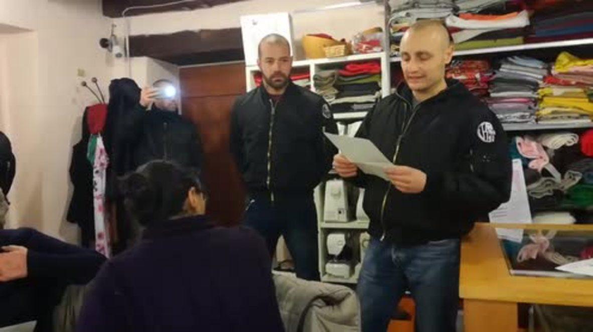 Italy: 15 skinheads raid pro-migrant meeting in Como