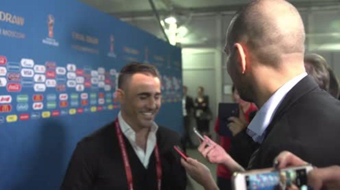 Rusia: El exjugador italiano Fabio Cannavaro lamenta que Italia se haya quedado fuera del Mundial