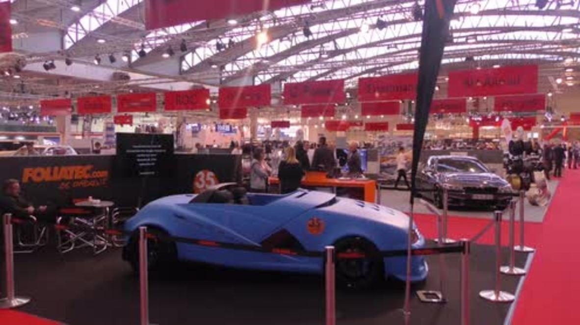 Alemania: Más de 500 expositores en el Salón del Automóvil de Essen