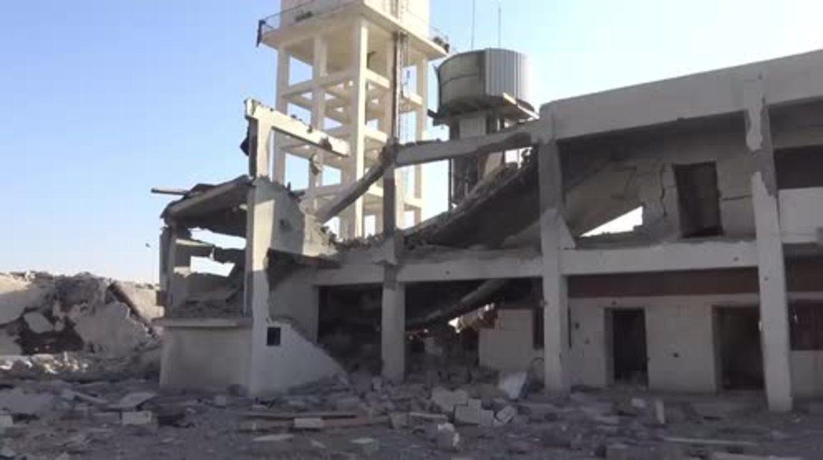 Yemen: Saudi-led coalition bombs Sanaa International Airport