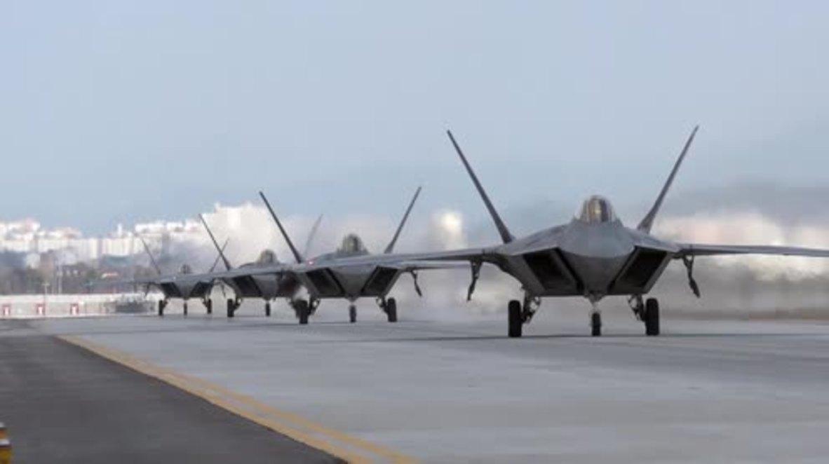 Corea del Sur: EE.UU. y Corea del Sur realizan maniobras aéreas conjuntas a las puertas de Piongyang