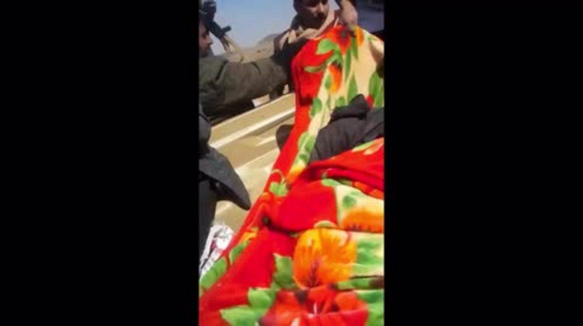Yemen: Imágenes muestran lo que parece el cadaver del expresidente Ali Abdullah Saleh *EXPLÍCITO*