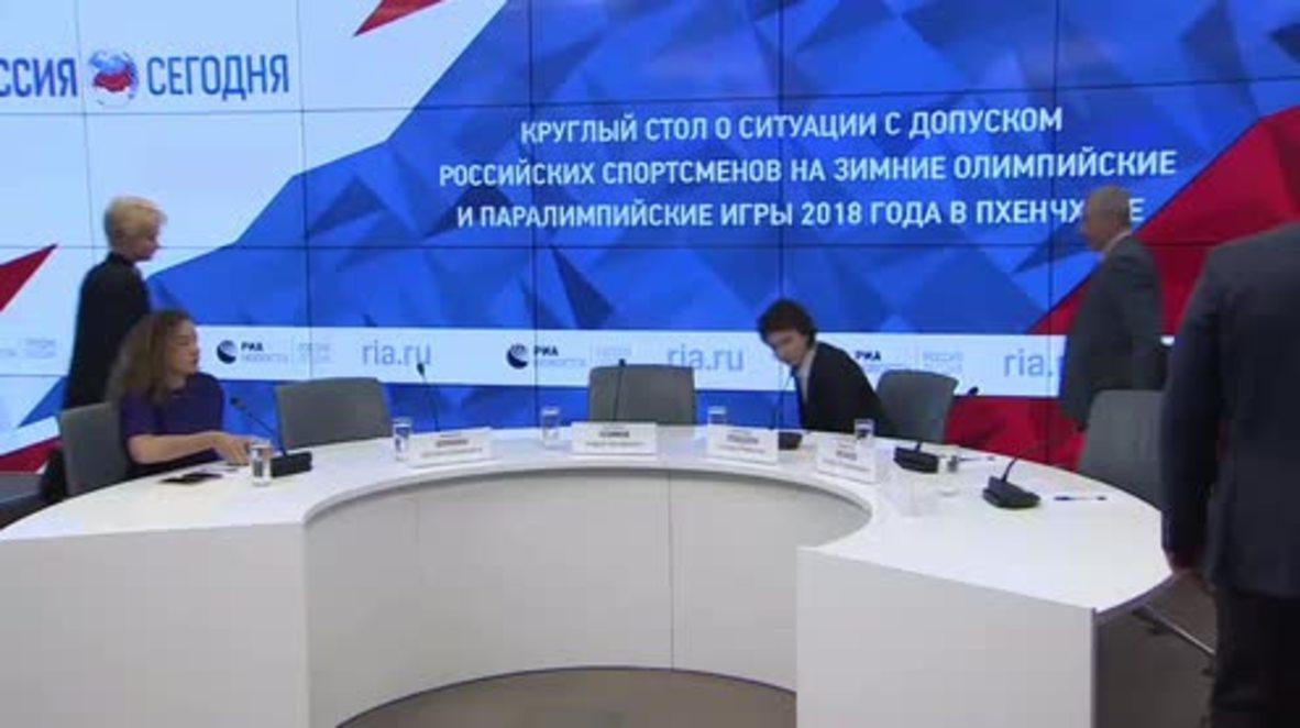 Russia: Russia Olympics ban 'geopolitical war' - Federation Council