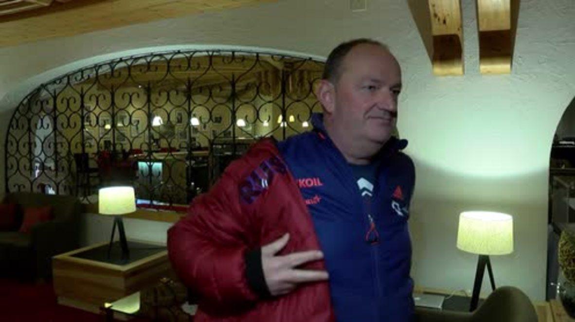 Switzerland: Star coach Cramer brands Olympic ban 'crazy'