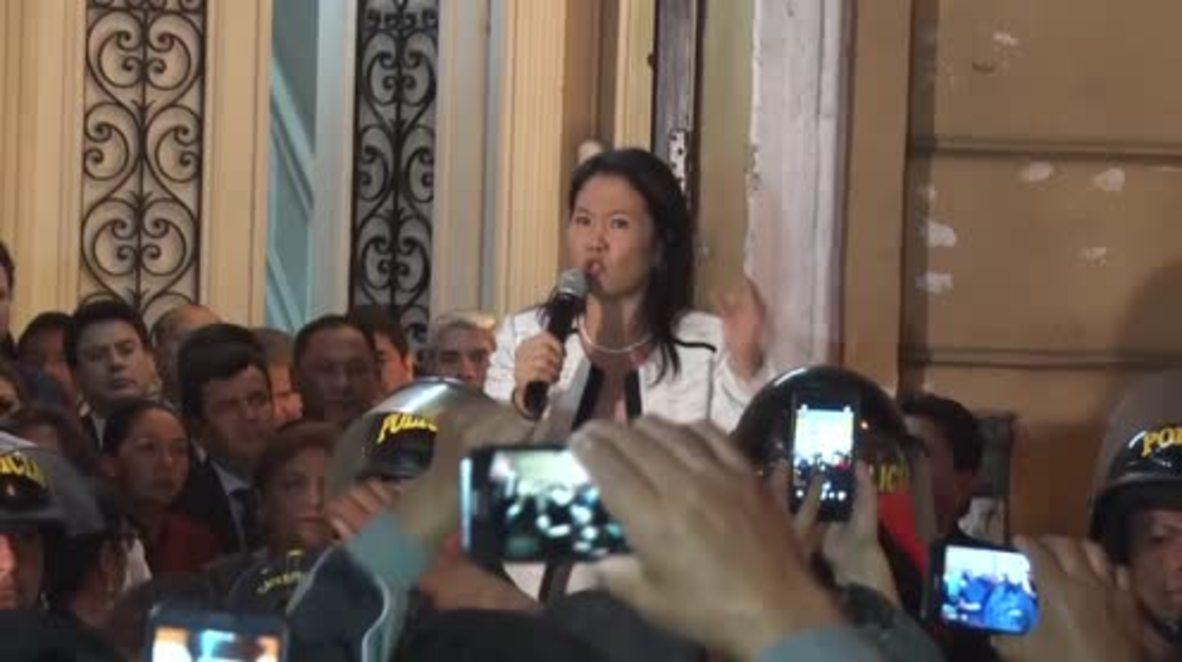 Peru: Fujimori denies corruption allegations after raid by prosecutors