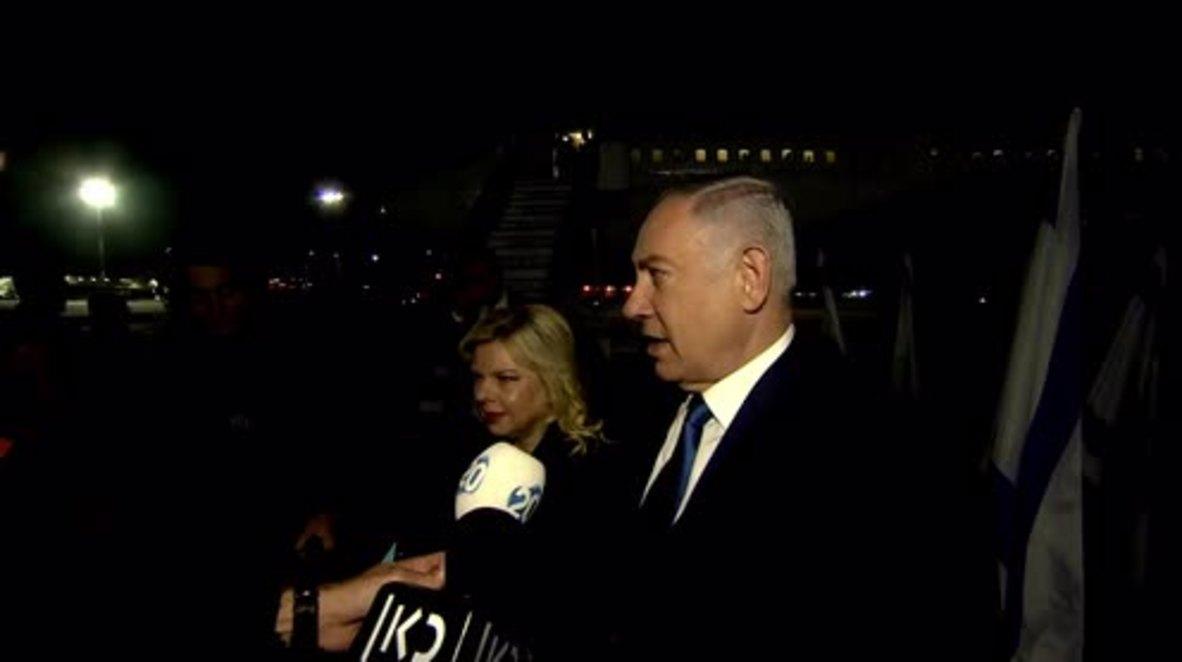 Israel: Paris-bound Netanyahu slates 'hypocritical Europe' before historic meeting