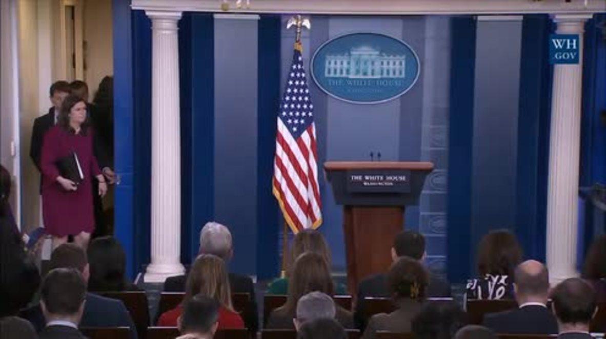 USA: White House praises NYC emergency response after failed bombing