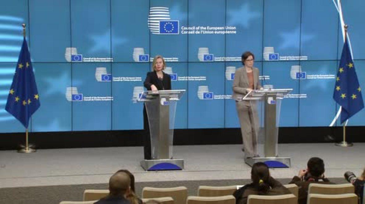 Bélgica: La UE rechaza el llamado de Netanyahu de reconocer la capital de Jerusalén