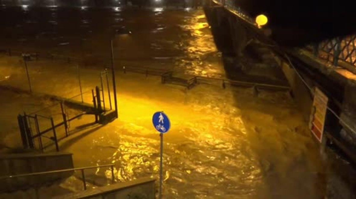 Italy: Heavy floods hit northern Italy