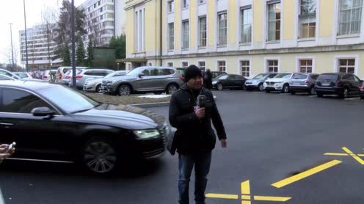 Suiza: Delegación siria regresa a Ginebra donde se celebran las conversaciones de paz.