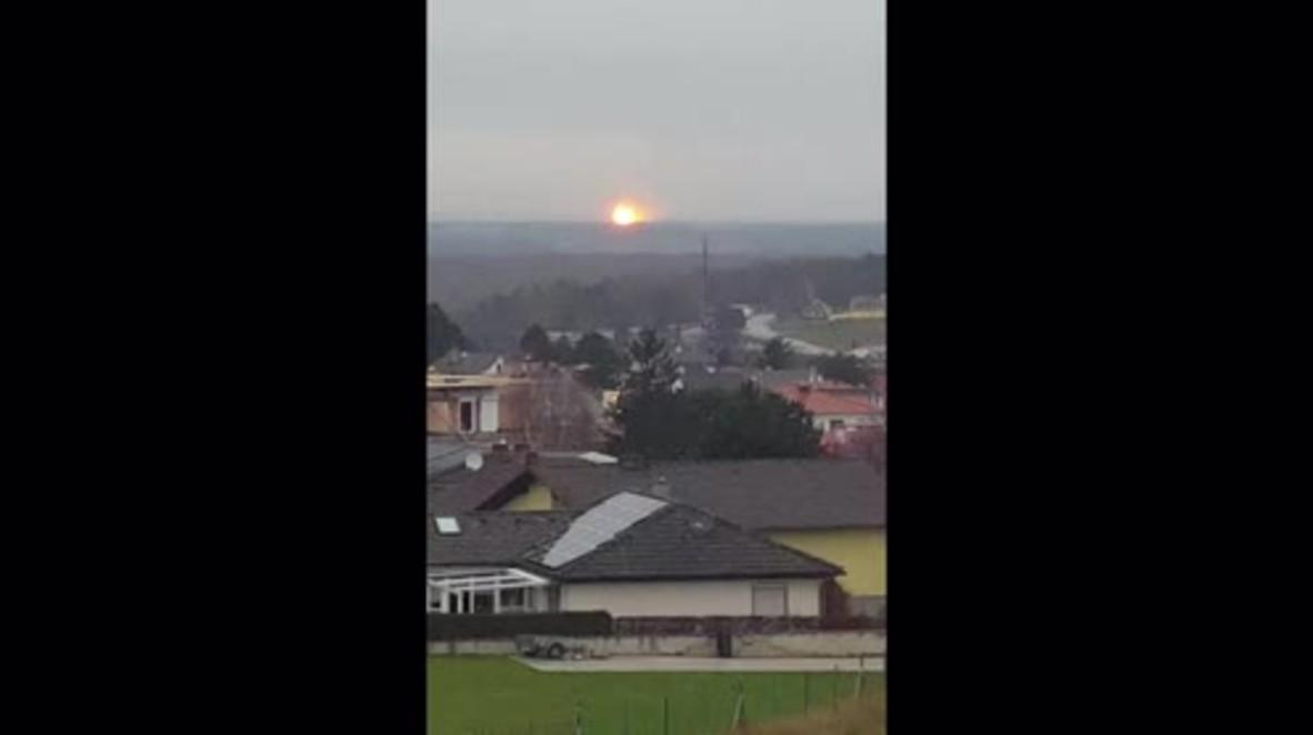 Austria: Al menos un muerto y 18 heridos en una explosión en una estación de gas.