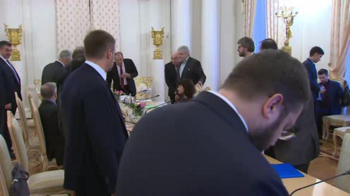 Rusia: Lavrov anuncia que Macron asistirá a la inauguración del diálogo Trianon