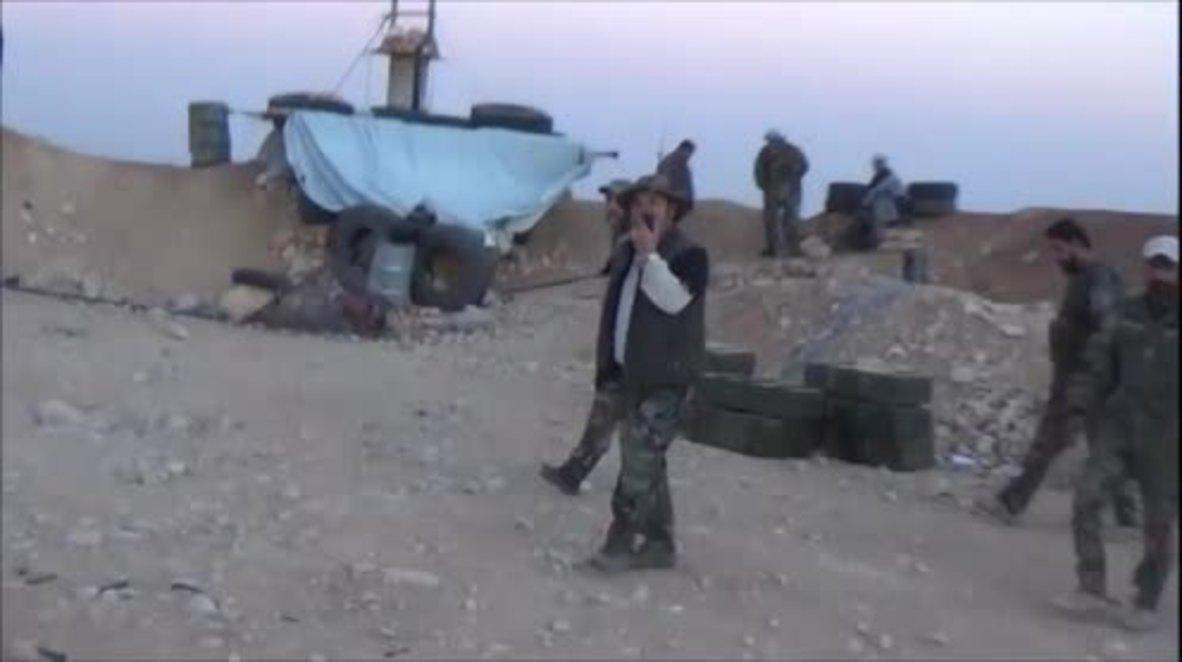 Syria: SAA advances to militant held territory near Golan Heights
