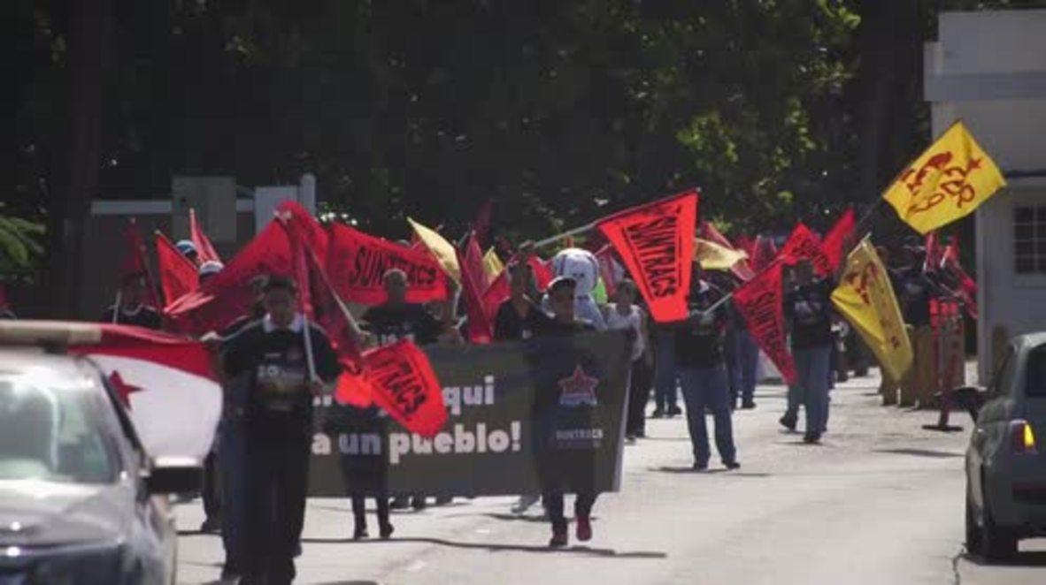 Panama: Protesters clash as Trump burns on US invasion anniversary