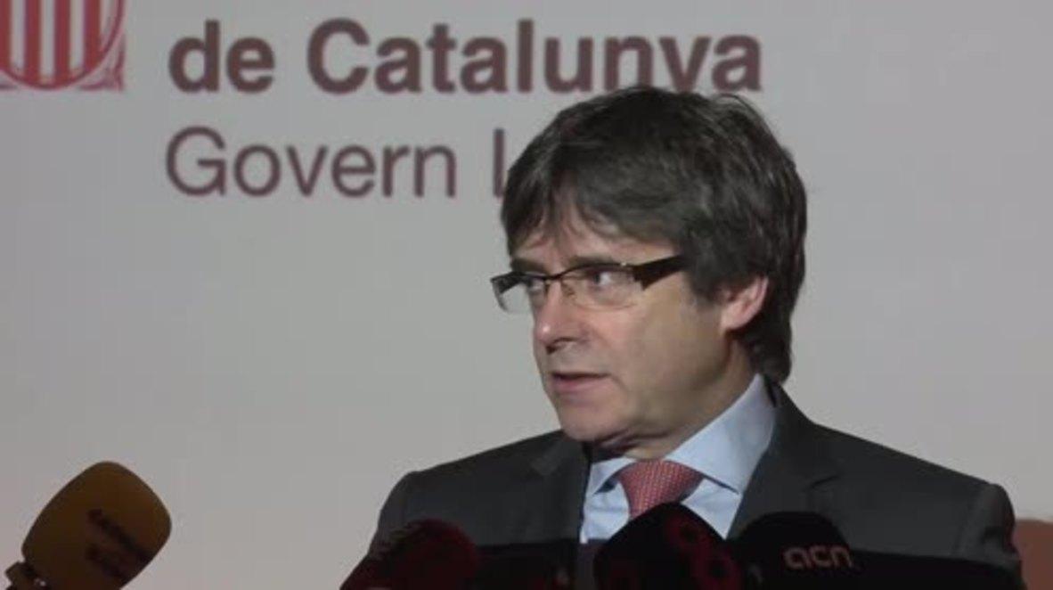 Belgium: 'Rajoy must be very afraid of the ballot box' - Puigdemont