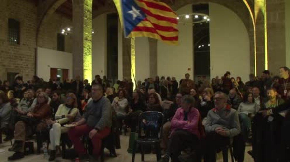 España: ANC exige 'la restitución del gobierno legítimo'