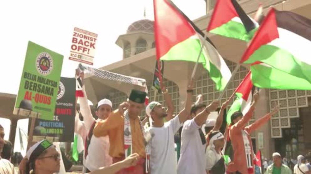 Malaysia: Thousands join 'Solidarity to save Jerusalem' rally in Putrajaya