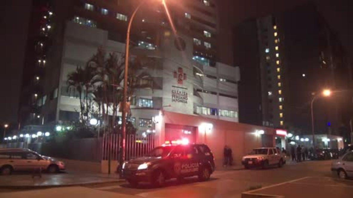 Peru: Jailed Fujimori rushed to hospital due to 'life-threatening' illness