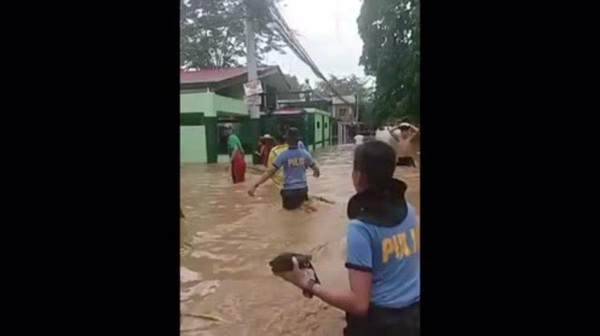 Philippines: Iligan City evacuated following Typhoon Tembin flashfloods