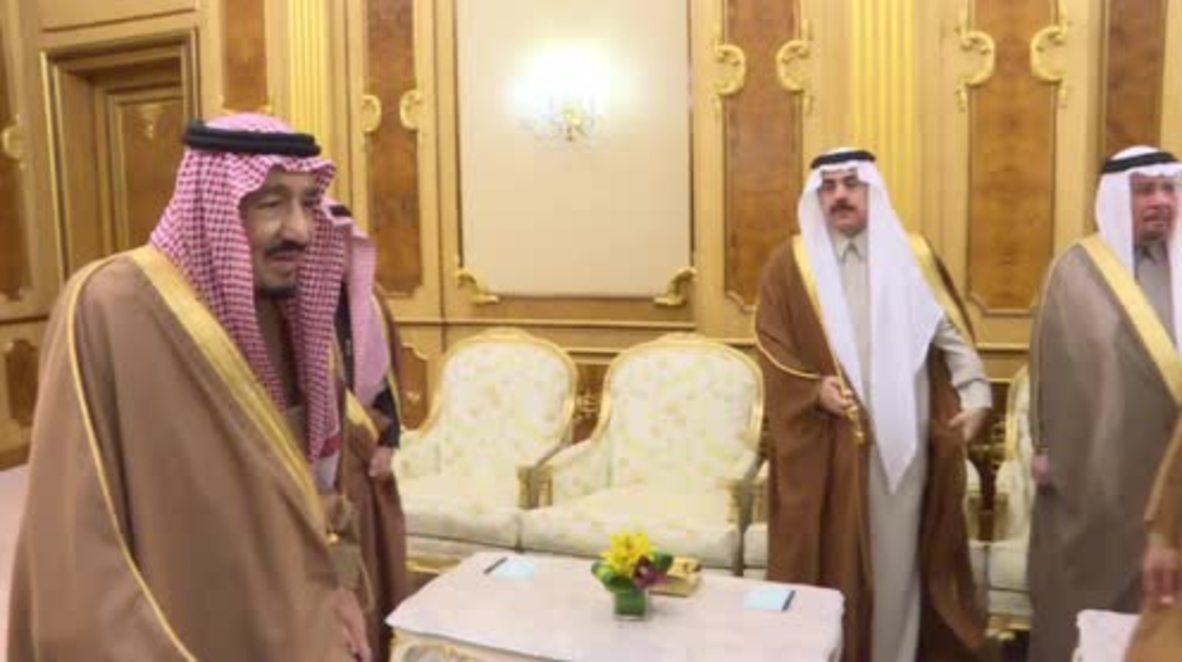 Saudi Arabia: Turkish PM in Riyadh on 2-day visit