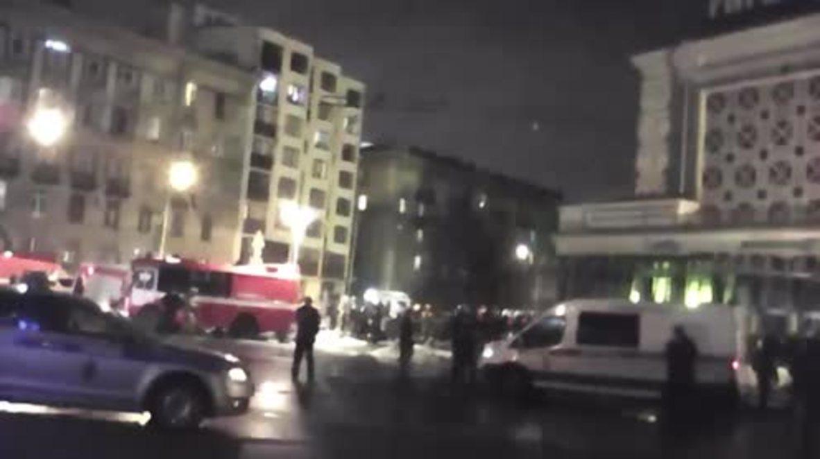 Rusia: Al menos 10 personas resultan heridas en una explosión en San Petersburgo