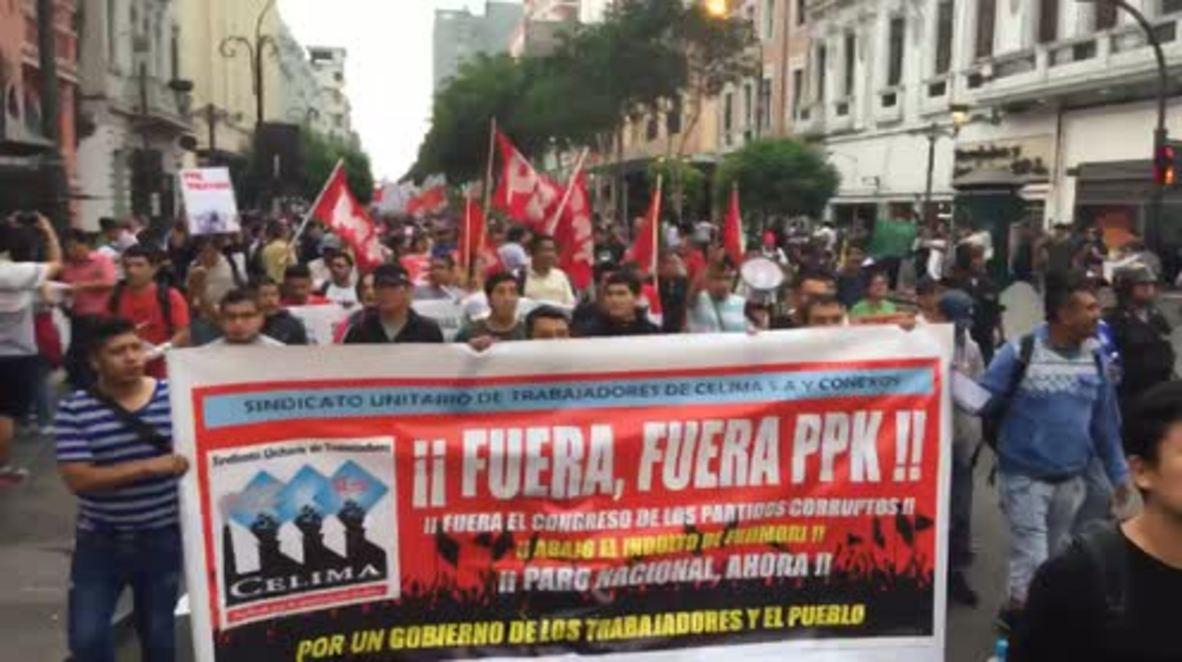 Peru: Unrest in Lima continues after Fujimori pardon