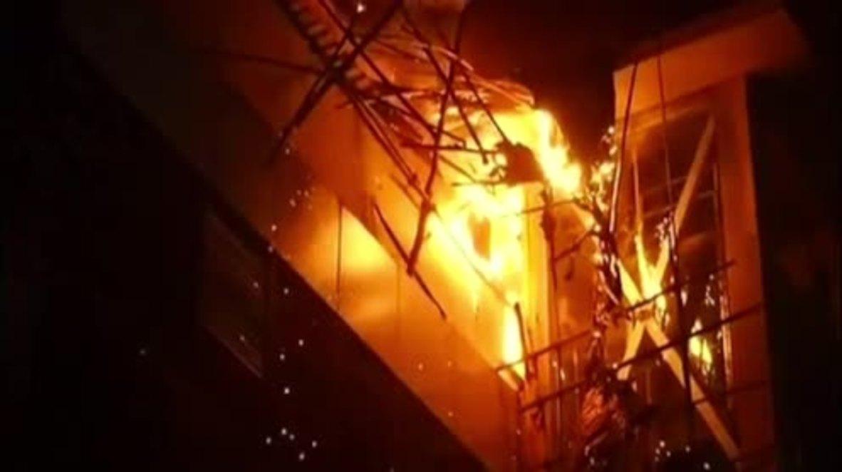 India: Fifteen dead in rooftop restaurant blaze