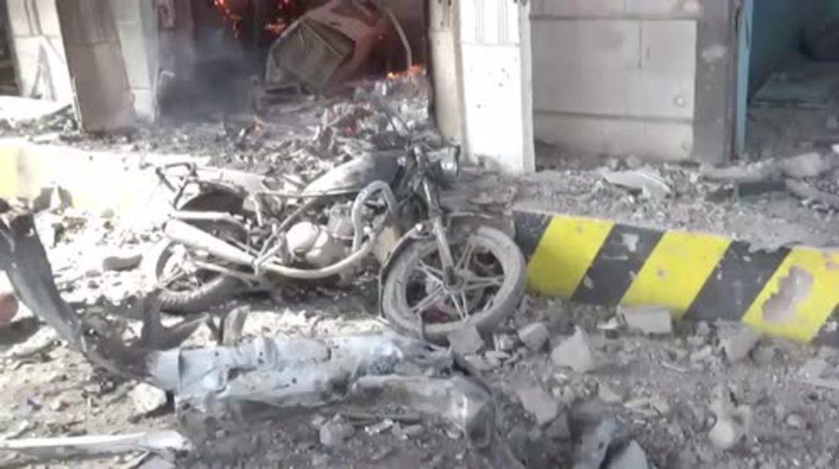 Yemen: Mueren al menos 20 personas en un bombardeo de la coalición saudí en Hodeida * GRÁFICO *