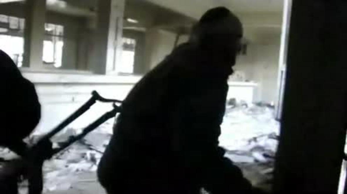 Siria: Fuertes combates entre ejército sirio y terroristas en ciudad de Harasta.