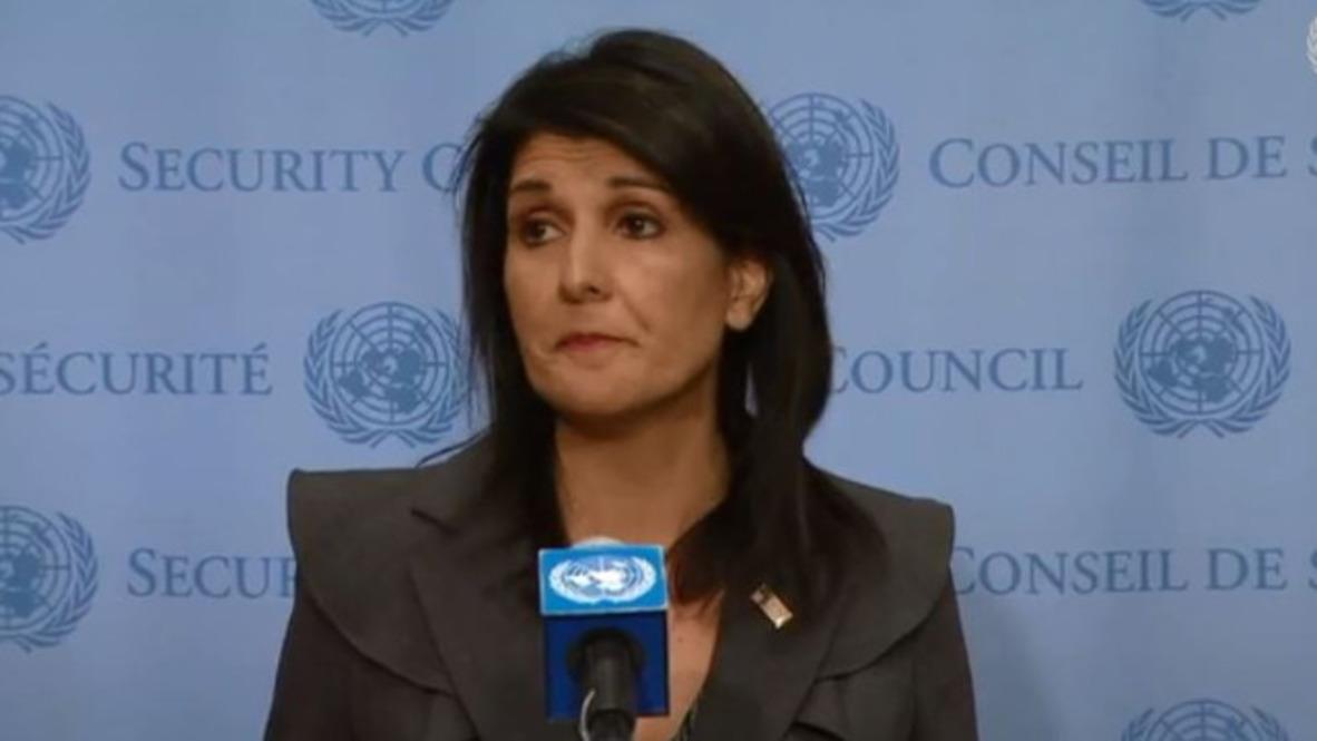 UN: Haley lauds 'tremendous courage' of protesters against 'Iranian dictatorship'