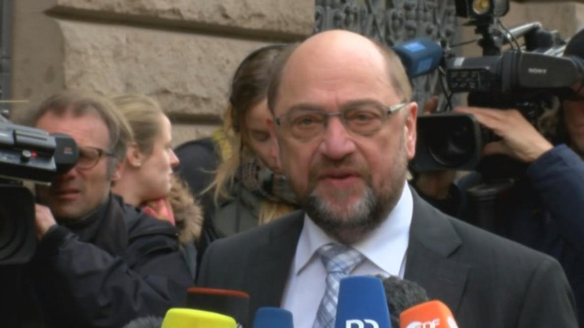 Alemania: 'Es cuestión de tecnicismos' - Schulz ante nuevas conversaciones