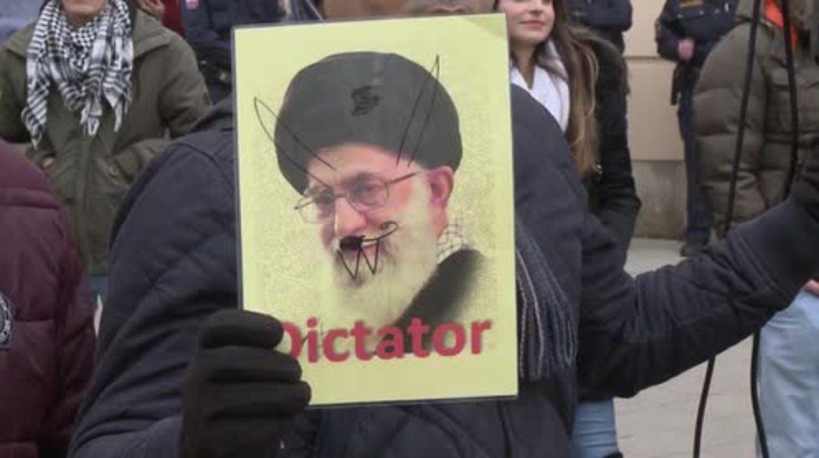 Austria: Vienna demo voices solidarity with Iran anti-gov. protesters