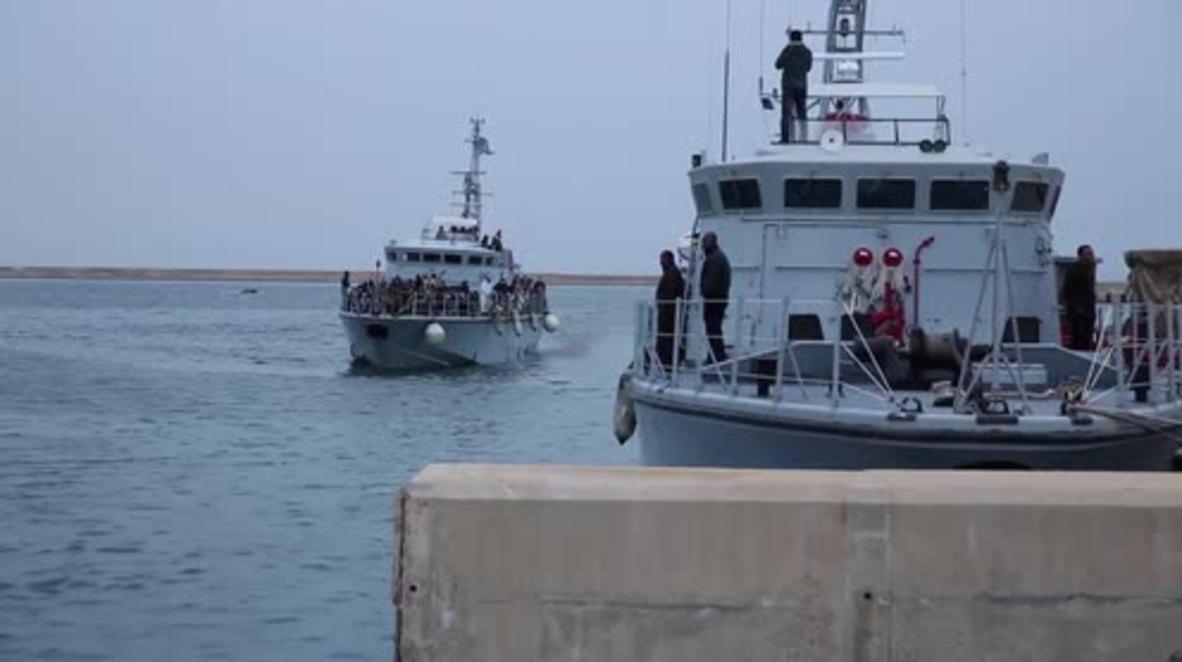 Libia: 16 migrantes interceptados, 50 permanecen perdidos en el mar Mediterráneo